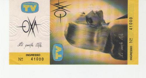 1991 e 1992 località varie Anna Oxa