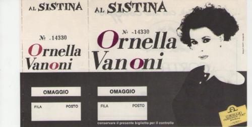 Ornella Vanoni anni 80 e 90 località varie (1)